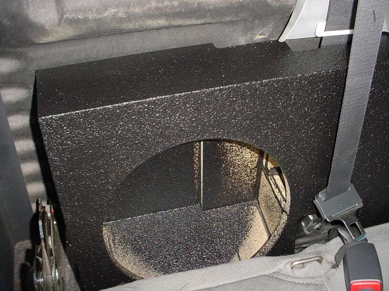 Dodge Dealership Houston >> Dodge Dakota single Subwoofer Box Sub Box | Rhino Bass Box